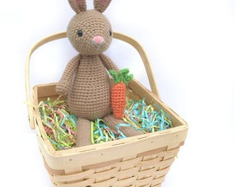 Crochet Bunny Pattern, Amigurumi Bunny Pattern, Easter Crochet Pattern, Easter Bunny Pattern, Crochet Rabbit Pattern, Bunny Crochet Pattern