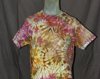 Handmade Ice Tie-Dyed T-Shirt: Medium 9