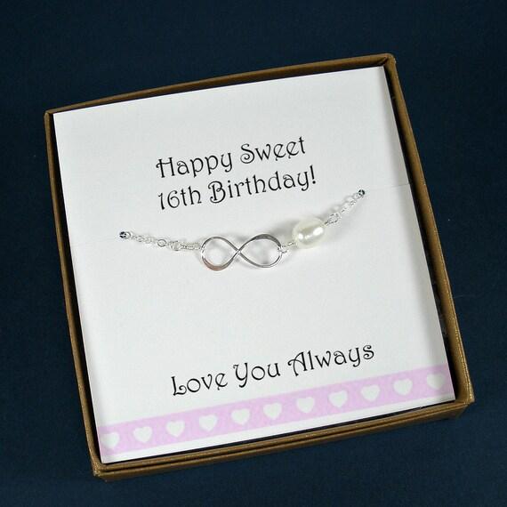 Sweet 16 Gift Sweet 16 Sweet 16 Bracelet Sweet 16 Jewelry