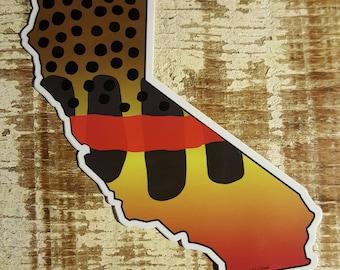 California Golden Trout Sticker Decal
