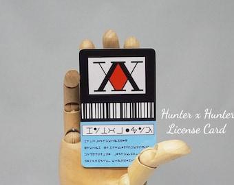 Hunter x Hunter License Card
