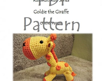 RunRunRun Series - Goldie the Giraffe (PDF Pattern)
