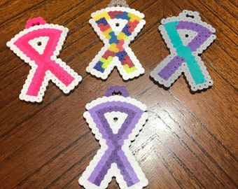 AUTISM + Awareness Ribbons