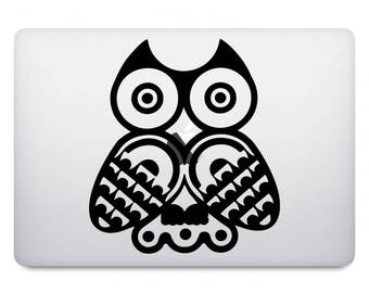 Owl Computer Decal