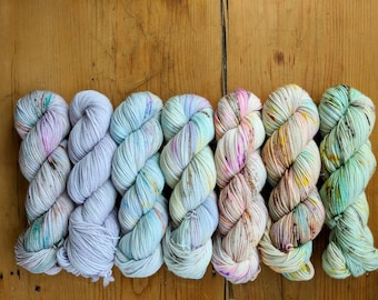 10% off! PRE-ORDER - Entire Serendipity Collection - 7x 100g skeins - choose your base