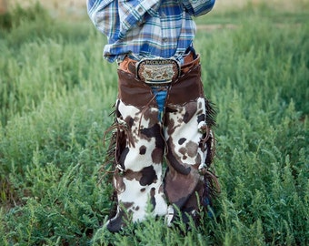 toddler chaps cowboy cowgirl costume  dress up play western wear infant clothing cowboy cowgirl birthday