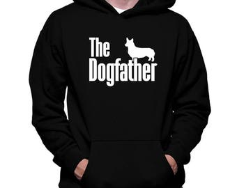 The Dogfather Pembroke Welsh Corgi Hoodie