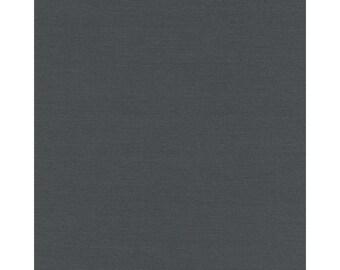 Slate Grey Hatchi Sweater Knit, Fabric By The Yard