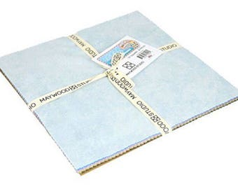 Precut Quilt Squares - Maywood Studio - Row by Row - 10 Inch Squares 20 Pieces Pre-Cut Cotton Fabric