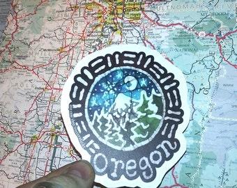 Oregon Sticker-Vinyl Decal laptop Bumper Sticker