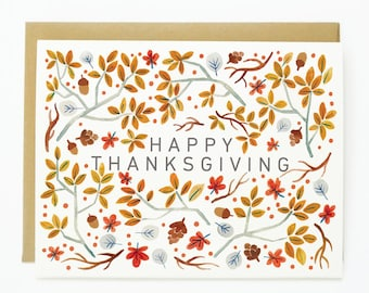Thanksgiving Foliage 1pc