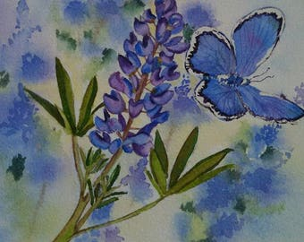 Butterly in Blue