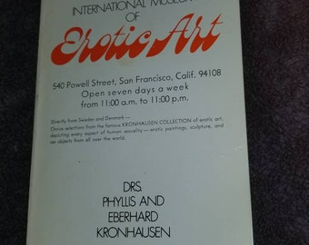 Erotic Art  booklet Kronhausen/San Francisco