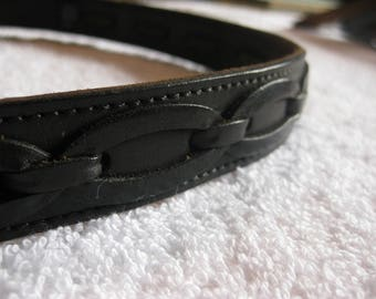Genuine Black Leather Belt