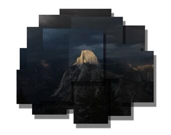 Half Dome, Last Light-  Yosemite National Park