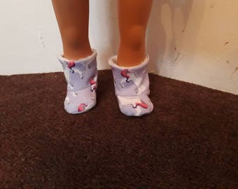 18 inch dolls slipper boots