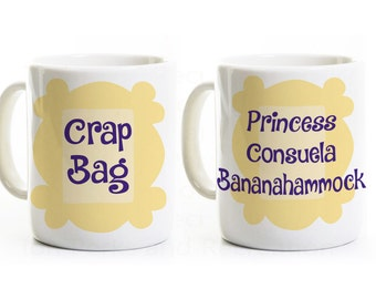 Friends Show Inspired Couples Coffee Mugs - Engagement Wedding Love Romance Anniversary Gift Mug- His and Hers Coffee Mugs - Phoebe and Mike