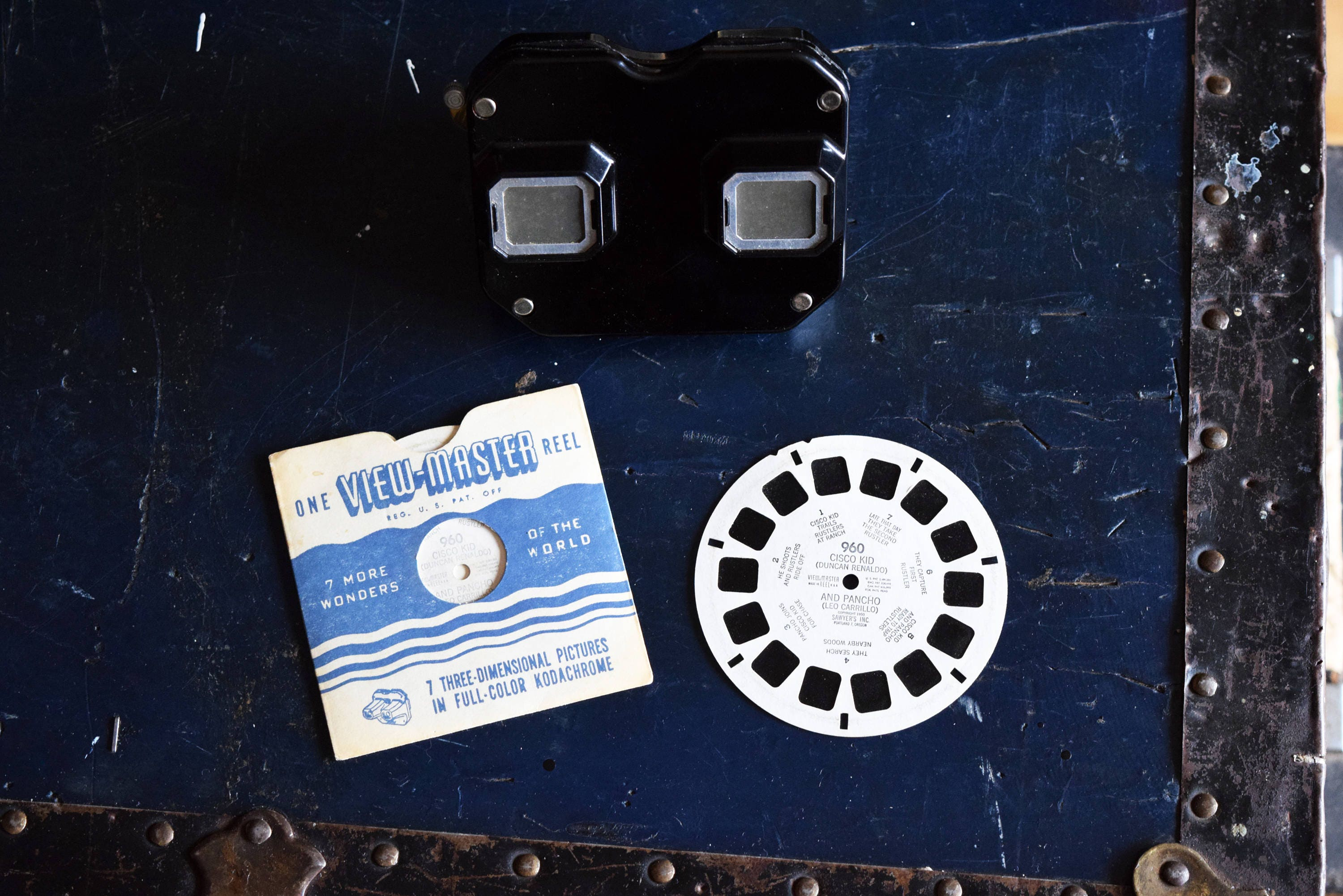 1950s Viewmaster Stereoscope Bakelite Comes With Single