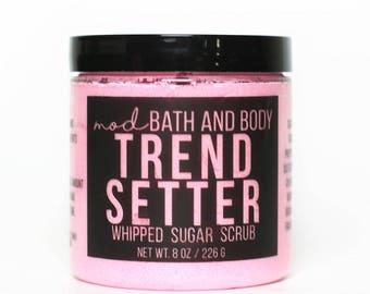 Sugar Scrub | Trend Setter Whipped Sugar Scrub | Whipped Soap | Bath and Beauty | Exfoliating Scrub