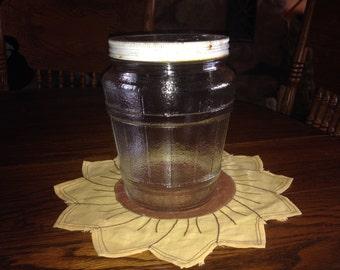 Vintage ELF Herring Jar