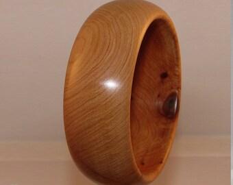 Bracelet wide wood Cedar the Morocco