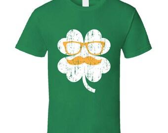 Irish Clover Funny Tee Cool St. Patrick's Day St Patty's T Shirt