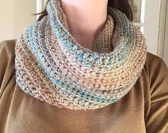 Cawl handmade crochet multicolor