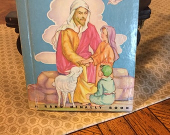 "1959 Children's Book ""The Story of Jesus"""
