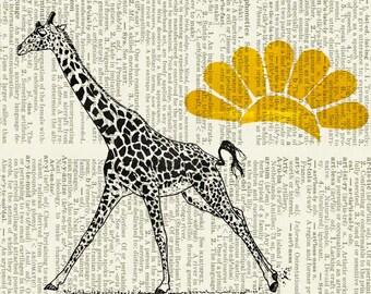 giraffe print I