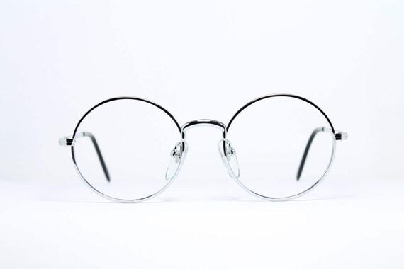 MEG Germany Original Brille Eyeglasses Occhiali Lunettes 16010R 36-26 Rund BLK c7amFPgla