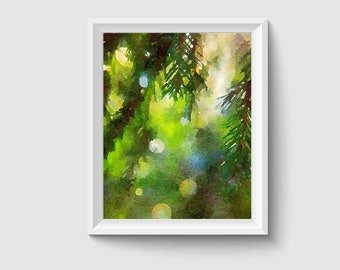 Dewy Morning Painting Postcard Poster Art Print Q388