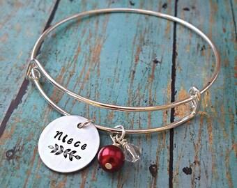 Niece Bracelet - Niece - Gift for Niece - Niece Gift - Niece Jewelry - Jewelry for Niece - Favorite Niece - Special Niece - Awesome Niece