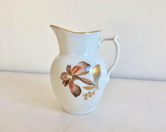 "Royal Copenhagen ""Brown Iris"" Pattern  Cream or Milk Jug"