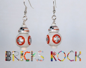 BB-8™ - Star Wars® The Force Awakens - Earring Pair made with LEGO® Minifigures™ - Jewelry made with LEGO® pieces