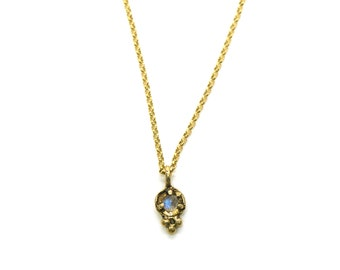 Auxo Necklace // labradorite