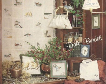 Everything's Just Ducky - 18 Vintage Counted Cross Stitch Patterns - Mallard Duck Designs by Dale Burdett