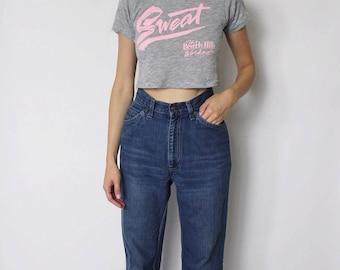 Vintage 1970s Levi's Denim Jeans 24   Levis High Waist Denim Jeans   1970s Denim Jeans