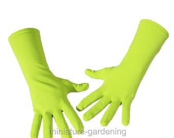 Gardening Gloves, Spring Green, Size Options: Medium