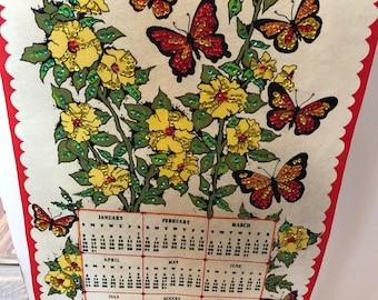 Bucilla 1983 Wall Calendar with Sequins