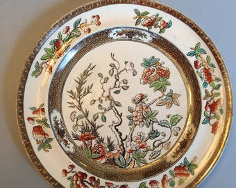 """Copeland and Son's Indian Tree Plate 7.25"""""""