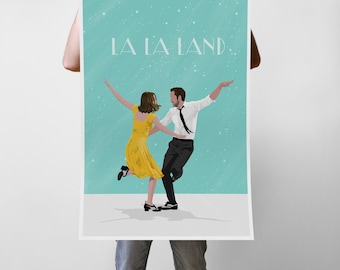 Jazz & Hollywood Movie - Art Print Poster - Multiple Sizes