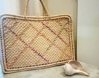 Woven Shopper/ Woven Beach Bag