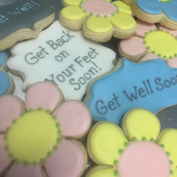 Get Well Cookie Set