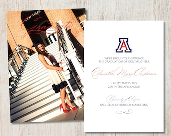 Graduation Announcement - College Logo