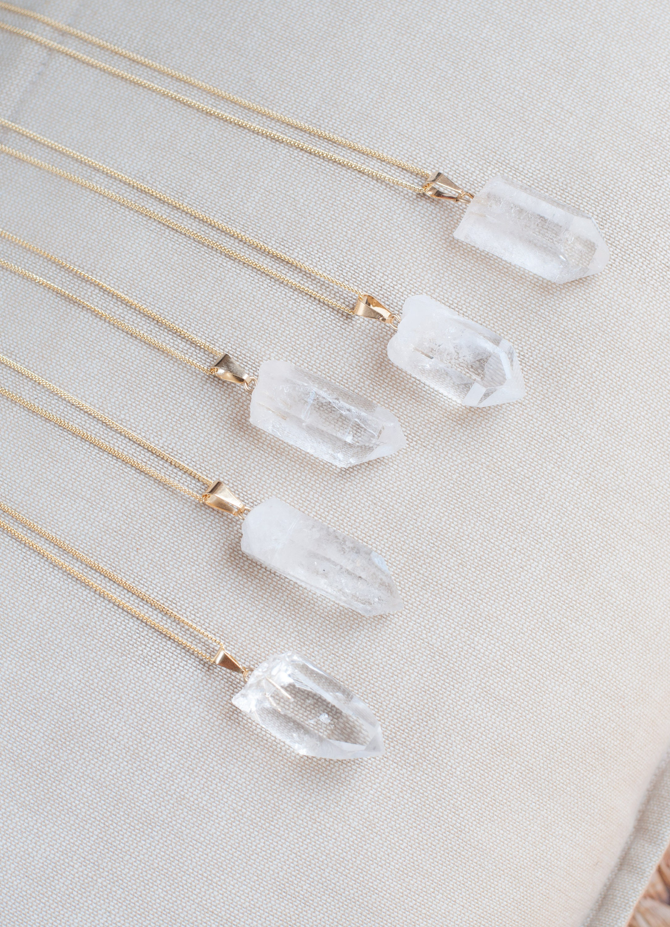 necklace turquoise layering ne clear quartz layered point original collections jewelry drop necklaces products crystal