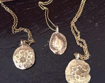 10k gold cast pendant -  Buccaneer