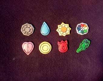 Hand made gym badges