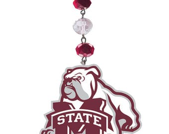 MISSISSIPPI STATE Bulldogs *Logo* MAGNETIC Ornament,Msu Bulldogs,Msu Ornament,Hail state,Msu football,Mississippi,Msu gift,Msu