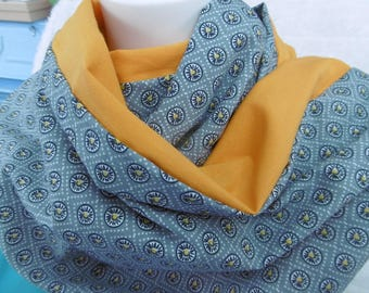 Cotton double Snood.