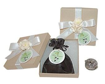 Pure Jasmine Crème Parfum - Sterling Silver Case